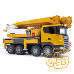 Scania R-Serie Liebherr Kran- LKW mit Light & Sound Modul 03570