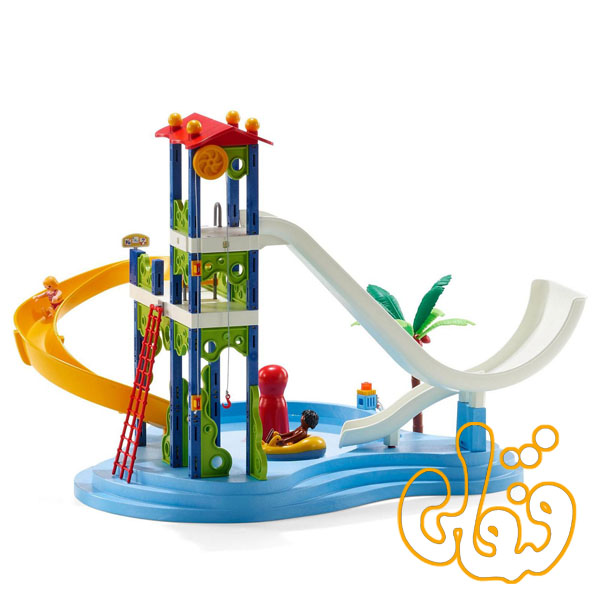 Water Park with Slides 6669