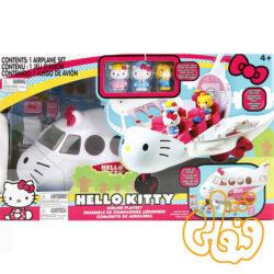 هواپیما هلوکیتی Hello kitty airline playset 84075