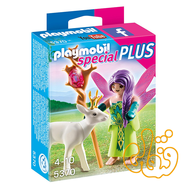 fairy with deer 5370