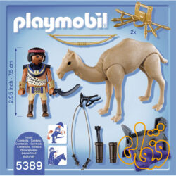 egyptian warrior with camel 5389