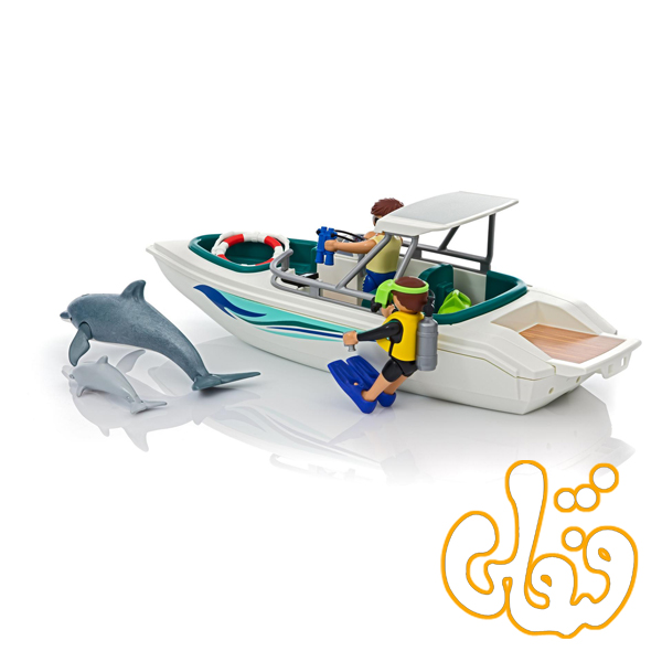 diving trip with speedboat 6981