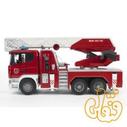 Scania R-Serie Feuerwehr mit Drehleiter,Wasserp.+ L&S-Modu 03590