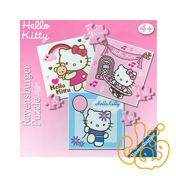 پازل هلو کیتی hello kitty 07217