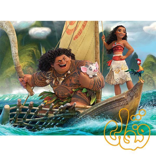 پازل موآنا و مویی Moana and Maui 10719