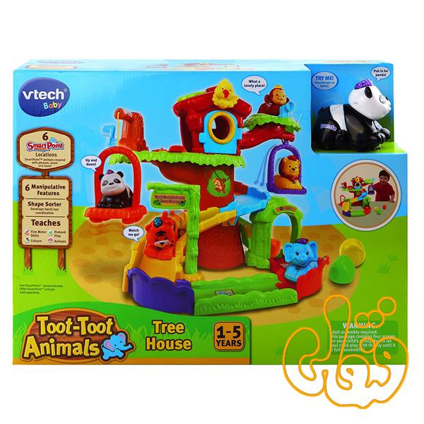 Toot-Toot Animals Tree House 157103
