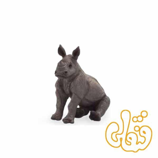 بچه کرگدن نشسته Rhino Baby Sitting 387257