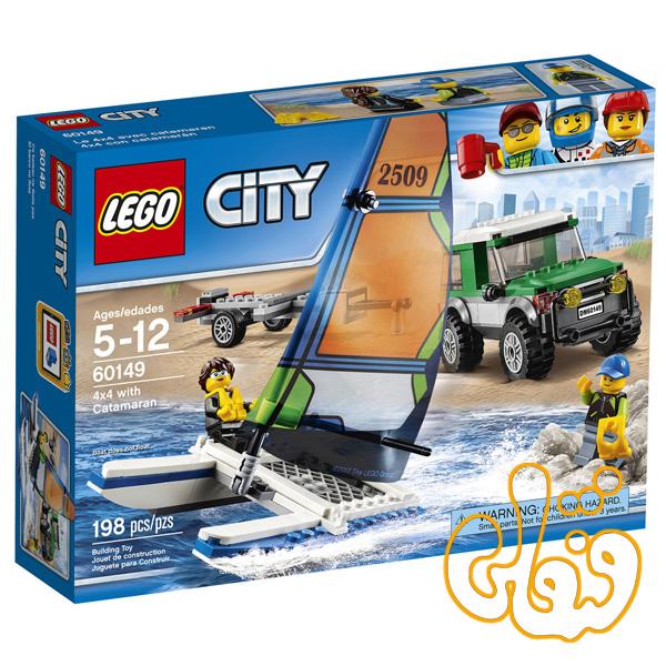 4x4 With Catamaran 60149
