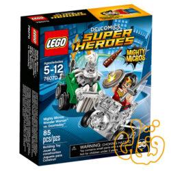 Mighty Micros: Wonder Woman™ vs. Doomsda 76070