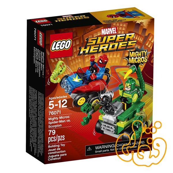 Mighty Micros: Spider-Man vs. Scorpion 76071