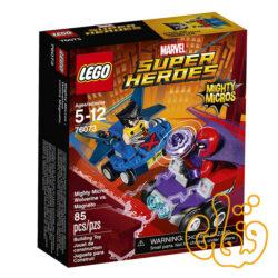 Mighty Micros: Wolverine vs. Magneto 76073