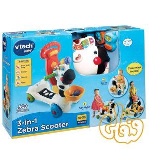 اسکوتر گورخر 3 حالته 3in1 Zebra Scooter 112603