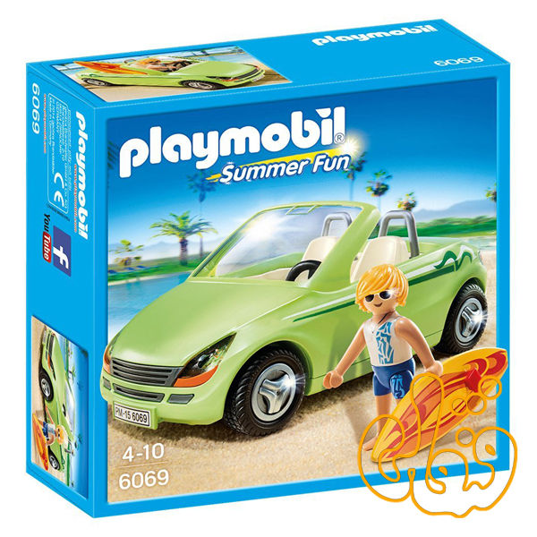 Surfer with Convertible 6069