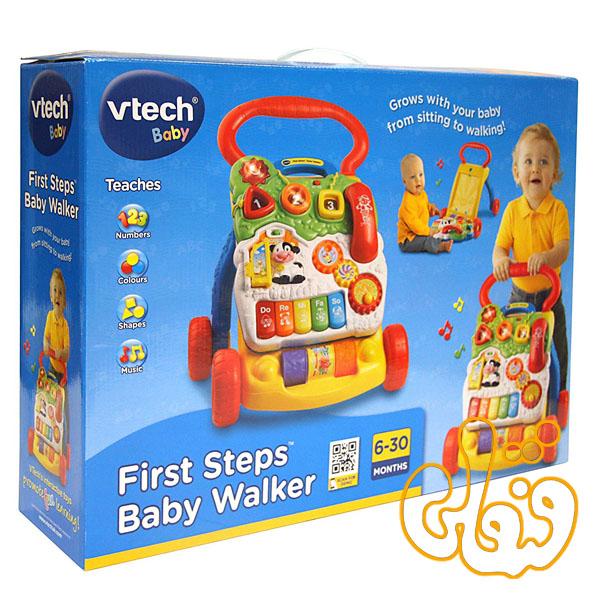 واکر موزیکال 2 منظوره First Step Baby Walker 61763