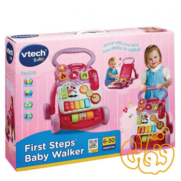 واکر موزیکال 2 منظوره First Step Baby Walker 61773