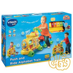قطار موزیکال 3 منظوره Push and Ride Alphabet Train 76603