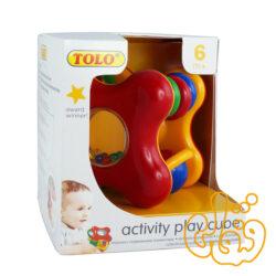مکعب جغجغه activity play cube 89360