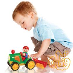 تراکتور شخم زنی Electronic Tractor and Cultivator 89898