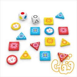 بازی شکلها و رنگها