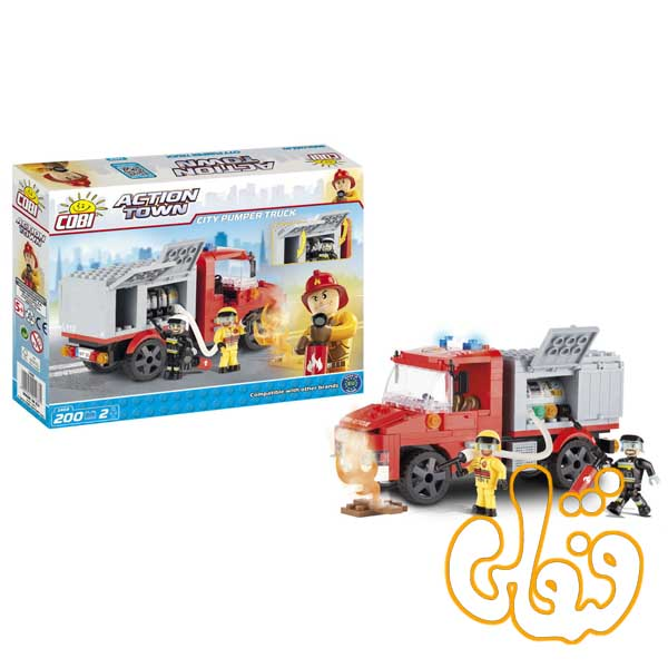 ماشین آتش نشانی City Pumper Truck 1468