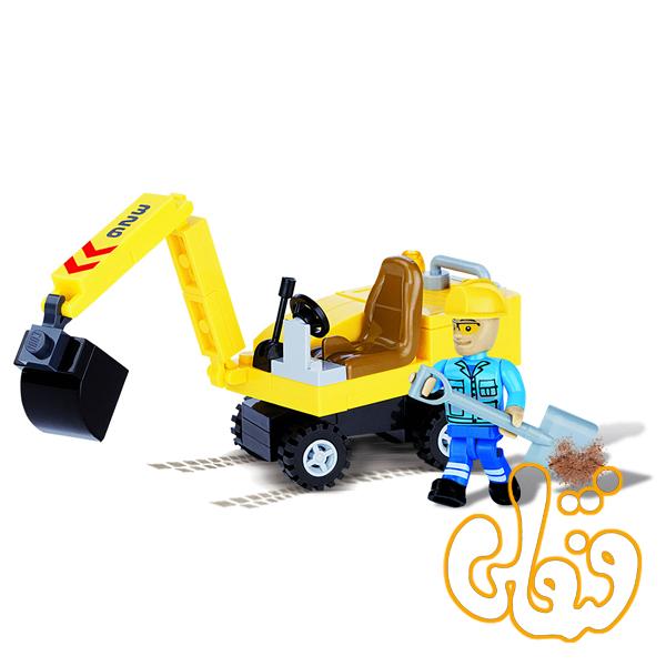 بیل مکانیکی کوچک Mini Excavator 1671