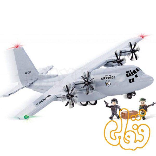 هواپیمای حمل و نقل بزرگ نظامی Military Transport Air Force Hercules 2606
