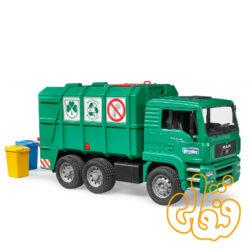 ماشین حمل زباله MAN TGA Garbage truck green 02753