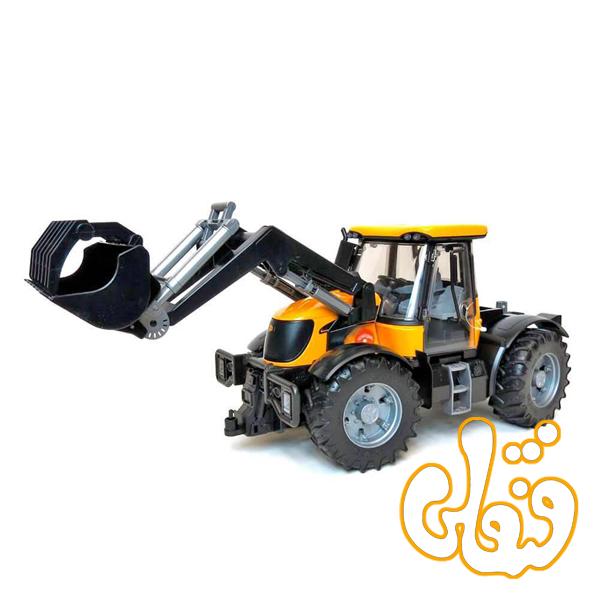 ماشین تراکتور با لودر JCB Fastrac 3220 mit Frontlader 03031