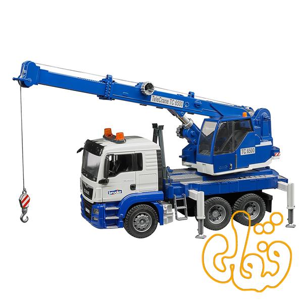 ماشین جرثقیل MAN TGS Crane truck with Light + Sound Module 03770