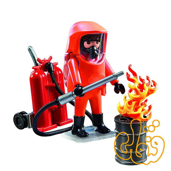 پلی موبیل آتش نشان Special Forces Firefighter 5367