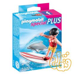 پلی موبیل موج سوار Surfer with Dolphin 5372