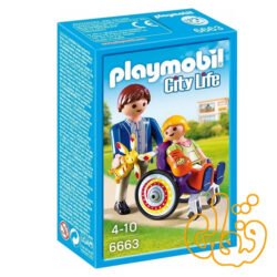 پلی موبیل Playmobil Child in Wheelchair 6663