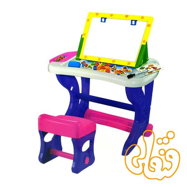 میز تحریر آموزشی ممتاز سالار همراه با حروف مگنتی