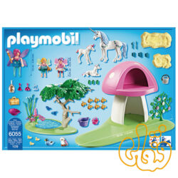 پلی موبیل Fairies with Toadstool House 6055