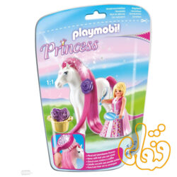 پلی موبیل اسب Princess Rosalie and White Pony 6166
