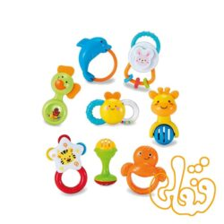 ست جغجغه 8 تایی Fun 'n Play Rattle Set 3080