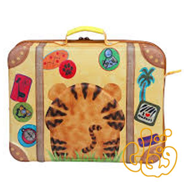 کیف چمدان بدون چرخ ببر 80007