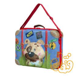 کیف چمدان بدون چرخ سگ 80008
