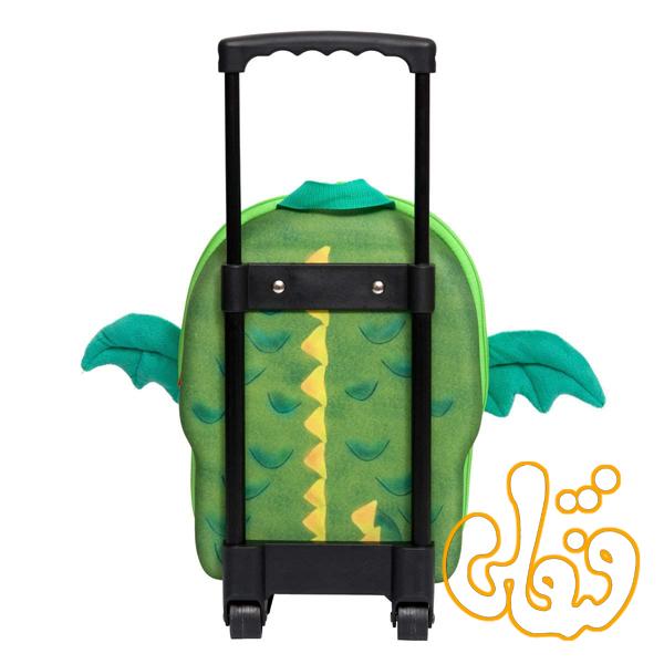 کیف مدرسه چرخدار اژدها 80015