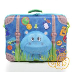 کیف چمدان بدون چرخ اسب آبی 80074