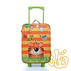 کیف چمدان چرخدار ببر 80160