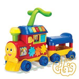 قطار واکر 3 منظوره Walker Ride-on Learning Train 803