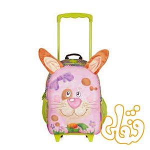 کیف مدرسه چرخدار خرگوش 86013