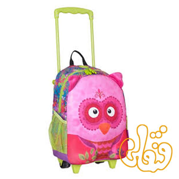 کیف مدرسه چرخدار جغد 86014