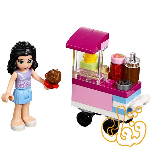 لگو ساختنی کیک فروش Cupcake Stall 30396