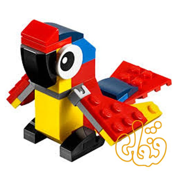لگو ساختنی طوطی Parrot 30472
