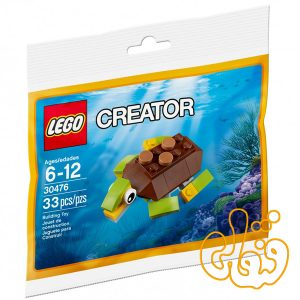 لگو ساختنی لاک پشت خوشحال Happy Turtle 30476