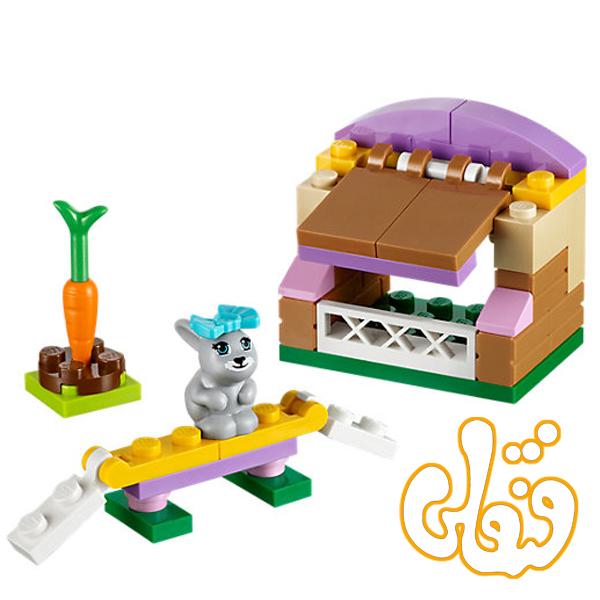 لگو ساختنی خرگوش فرندز Bunny's Hutch 41022