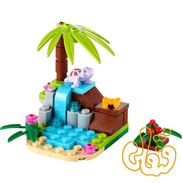 لگو ساختنی بهشت کوچولوی لاک پشت Turtle's Little Paradise 41041
