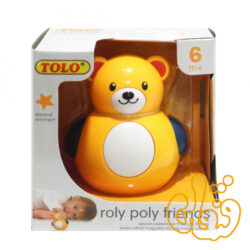 خرس خپل Roly Poly Teddy Bear 86205